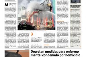 Noticia 18.05.17 Empresaria perdió 800 millones de pesos por incendio en Zofri